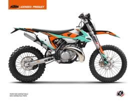 Kit Déco Moto Cross Gravity KTM EXC-EXCF Vert