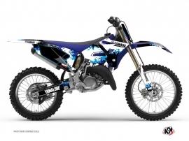Kit Déco Moto Cross Hangtown Yamaha 125 YZ Bleu