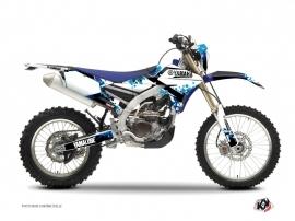Kit Déco Moto Cross Hangtown Yamaha 250 WRF Bleu