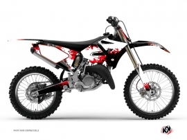 Kit Déco Moto Cross Concept Yamaha 125 YZ Rouge