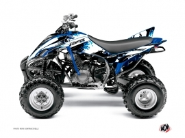 Yamaha 350 Raptor ATV Hangtown Graphic Kit Blue