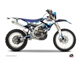 Yamaha 450 WRF Dirt Bike Hangtown Graphic Kit Blue