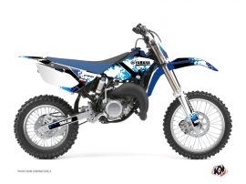 Yamaha 85 YZ Dirt Bike Hangtown Graphic Kit Blue