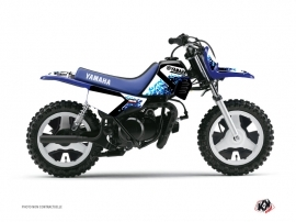 Kit Déco Moto Cross Hangtown Yamaha PW 50 Bleu