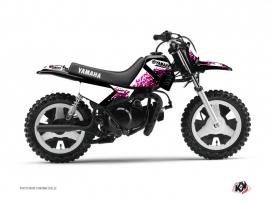Kit Déco Moto Cross Hangtown Yamaha PW 50 Rose
