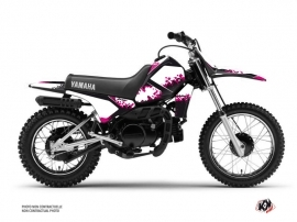 Kit Déco Moto Cross Hangtown Yamaha PW 80 Rose