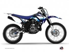 Kit Déco Moto Cross Hangtown Yamaha TTR 125 Bleu
