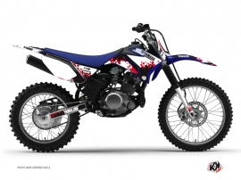 Kit Déco Moto Cross Hangtown Yamaha TTR 125 Rouge