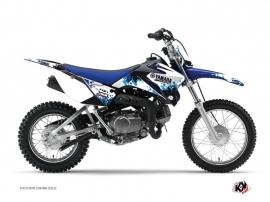 Kit Déco Moto Cross Hangtown Yamaha TTR 90 Bleu