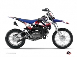 Kit Déco Moto Cross Hangtown Yamaha TTR 90 Rouge
