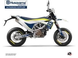 Husqvarna 701 Supermoto Dirt Bike Heritage Graphic Kit Yellow