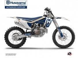Kit Déco Moto Cross Heritage Husqvarna FC 350 Blanc