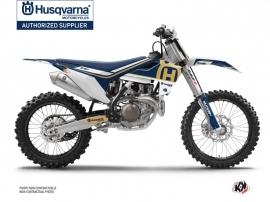 Kit Déco Moto Cross Heritage Husqvarna FC 350 Bleu