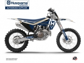 Husqvarna TC 125 Dirt Bike Heritage Graphic Kit White