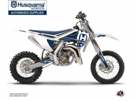 Husqvarna TC 65 Dirt Bike Heritage Graphic Kit White