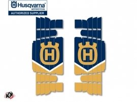 Kit Déco Grilles de radiateur Heritage Husqvarna TE-FE 2017-2018 Bleu