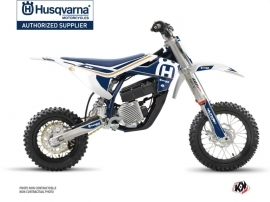 Husqvarna EE-5 Dirt Bike Heritage Graphic Kit White