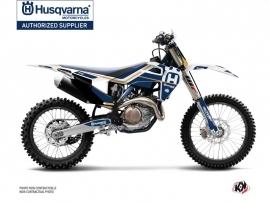 Kit Déco Moto Cross Heritage Husqvarna TC 125 Blanc