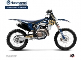 Husqvarna TC 125 Dirt Bike Heritage Graphic Kit Blue