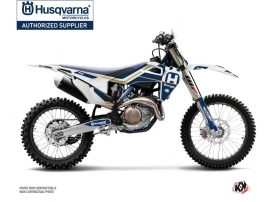 Husqvarna TC 250 Dirt Bike Heritage Graphic Kit White