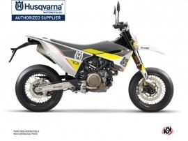 Kit Déco Moto Heyday Husqvarna 701 Supermoto Gris Jaune