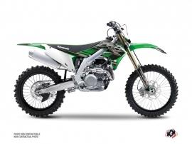 Kit Déco Moto Cross Impact Kawasaki 450 KXF Vert