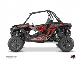 Kit Déco SSV Jaw Polaris RZR 1000 Turbo Rouge