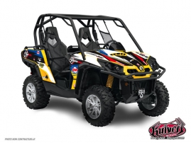 Can Am Commander UTV Replica Jérémie Warnia Graphic Kit