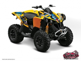Can Am Renegade ATV Replica Jérémie Warnia Graphic Kit