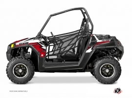 Polaris RZR 570 UTV Jungle Graphic Kit Red