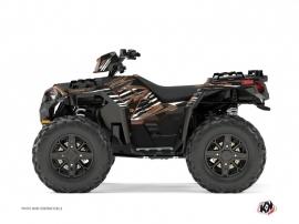 Polaris 1000 Sportsman XP Forest ATV Jungle Graphic Kit Brown