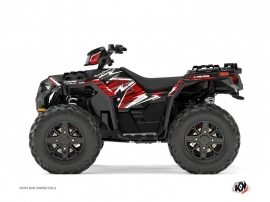 Kit Déco Quad Jungle Polaris 1000 Sportsman XP Forest Noir Rouge