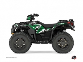 Kit Déco Quad Jungle Polaris 1000 Sportsman XP Forest Noir Vert