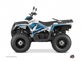 Kit Déco Quad Jungle Polaris 570 Sportsman Forest Bleu