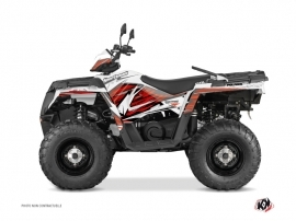 Kit Déco Quad Jungle Polaris 570 Sportsman Forest Rouge