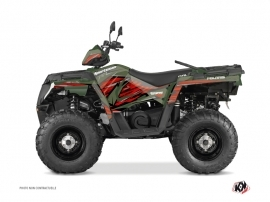 Kit Déco Quad Jungle Polaris 570 Sportsman Forest Vert Rouge
