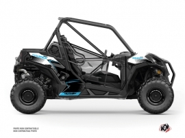 Can Am Maverick Trail UTV Kallin Graphic Kit White Blue