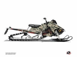 Polaris Axys Snowmobile Kamo Graphic Kit Green Red