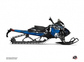 Skidoo REV XM Snowmobile Kamo Graphic Kit Grey Blue