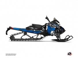 Kit Déco Motoneige Kamo Skidoo REV XM Gris Bleu