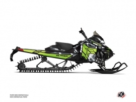 Skidoo REV XM Snowmobile Kamo Graphic Kit Grey Green