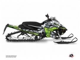 Yamaha Sidewinder Snowmobile Kamo Graphic Kit Grey Green