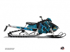 Polaris Axys Snowmobile Keen Graphic Kit Blue
