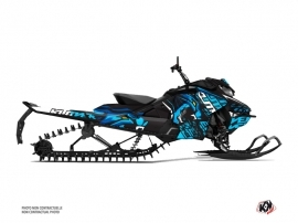 Skidoo Gen 4 Snowmobile Keen Graphic Kit Blue