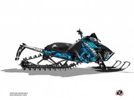 Arctic Cat Pro Climb Snowmobile Keen Graphic Kit Blue
