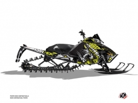 Arctic Cat Pro Climb Snowmobile Keen Graphic Kit Neon Grey