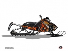Arctic Cat Pro Climb Snowmobile Keen Graphic Kit Orange
