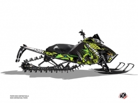 Arctic Cat Pro Climb Snowmobile Keen Graphic Kit Green