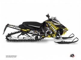 Yamaha Sidewinder Snowmobile Keen Graphic Kit Grey Yellow