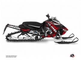 Yamaha Sidewinder Snowmobile Keen Graphic Kit Grey Red
